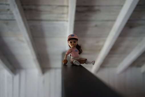 Doll, Toy, Kid, Childhood, Fun, Play, Young, Girl