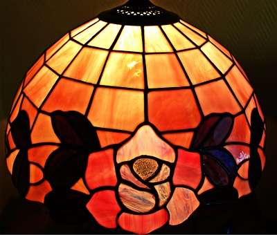 Tiffany, Glass Window, Stained Glass, Tiffany Art, Lamp