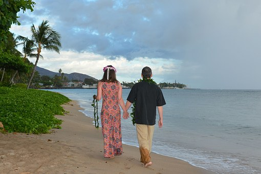 Maui, Romantic, Couple, Beach, Tropical, Romance