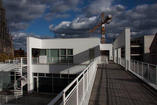 Ulm, Meier Building, Modern, Richard Meier, Architect