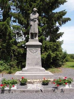 Bettrechies, War Memorial, France, Monument