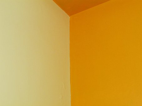 Edge, Room, Color Combination, Wall, Yellow, White