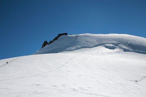 Mountain, Hut Daisy, Monte Rosa, Snow, Glacier, Snoq