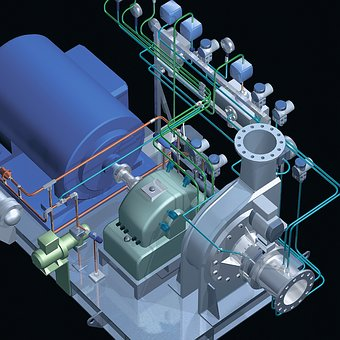 Turboventilator, Compressor, Fima