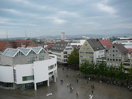 Ulm, Richard Meier Construction, Cathedral Square