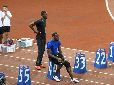 Usain Bolt, 100 M Run, 100 M, Run, Sport, World Class