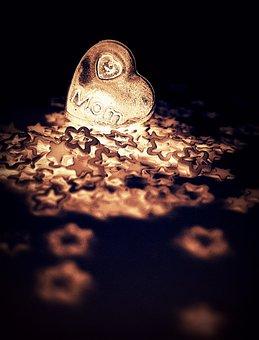 Stars, Heart, Love, Mom, Romantic, Valentine