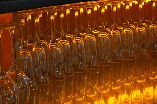 Glasses, Gastronomy, Yellow, Bar, Light, Wine