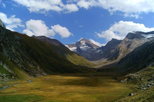 Ahrntal Valley, South Tyrol, Mountains, Panorama, View