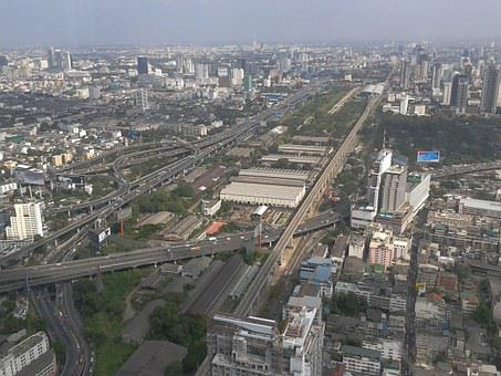 City, The Trestle, Bangkok, Megalopolis