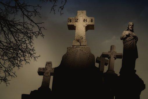 Côte-des-neiges Cemetery, Montreal, Cemetery, Cross