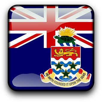 Cayman Islands, Flag, Country, Nationality, Square