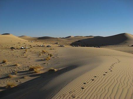 Algeria, Sahara, Desert, Dunes, 4x4