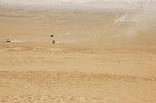 Algeria, Desert, Sahara, 4x4, Sand, Dunes