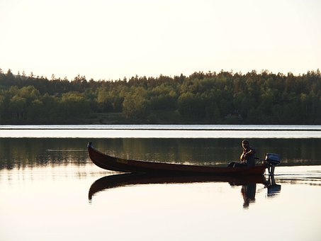 Boat, Lake, Water, Beautiful Views, Summer, Finland
