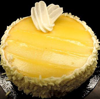 Limoncello Cake, Lemon Pudding, Sweet, Dessert, Food