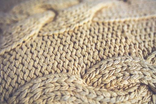 Vintage, Retro, Blanker, Overlay, Wool, Weave, Yeallow