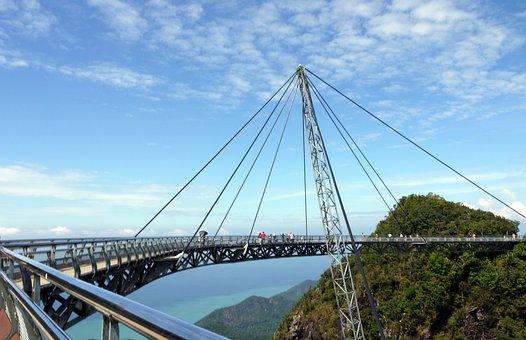 Langkawi, Suspension Bridge, Malaysia