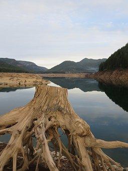 Oregon, Lake, Lake Detroit, Water, Drought, Natural