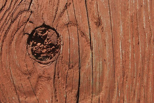 Wood, Board, Knot, Hole, Weathered, Plank, Deck