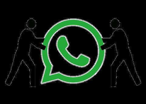 Whatsapp, Figure, Silhouette, Slide, Computer