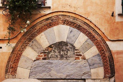 Goal, Input, Arch, Architrave, Horizontal Bar, Antique