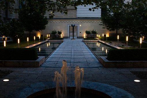 Munich, Residence, Cabinet Garden