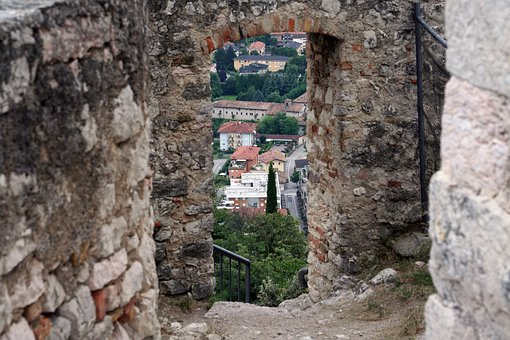 Italy, Garda, Bardolino, Holiday, Castle, Outlook