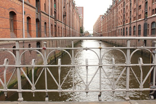 Channel, City, Speicherstadt, Outdated Industry