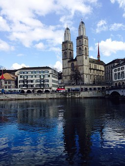 Zurich, Grossmünster, Church