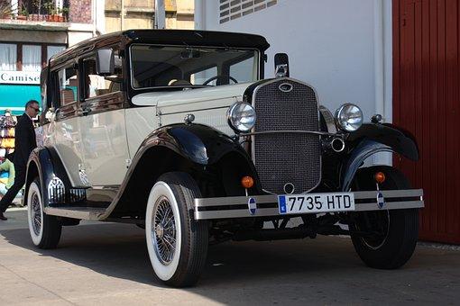 Automobile, Ford, Classic Car, 1928