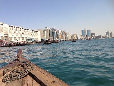 Dubai, Uae, Emirates, Emirate, Desert, Dubai Creek