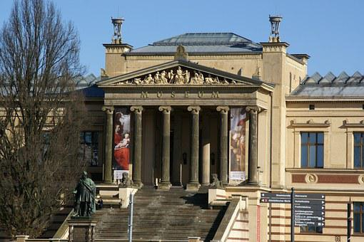 Staatliches Museum, Schwerin, Germany, Museum, Exterior