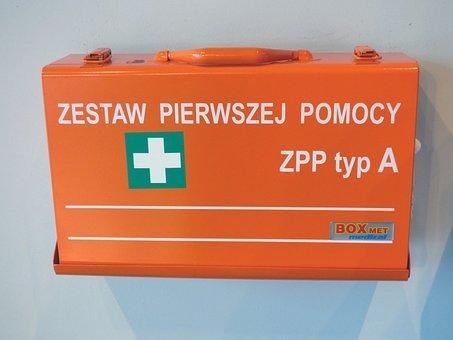 First Aid Kit, First Aid, Medical, Przedmedyczna