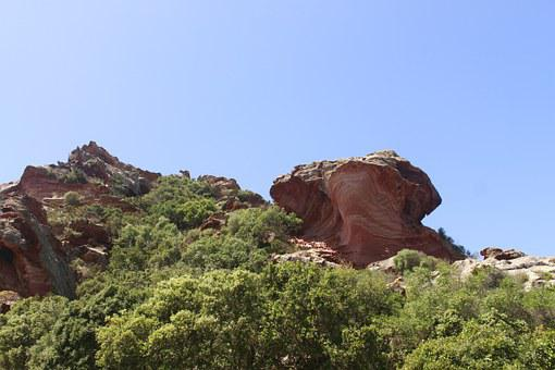 Geological Structures, Landscape, Red Sandstone
