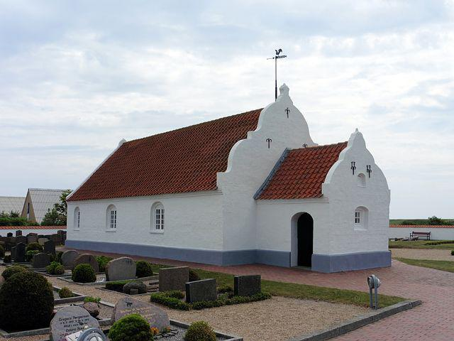 Denmark, Mando Kro, Church, Island