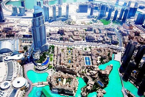 Dubai, Landscape, City, Skyscraper