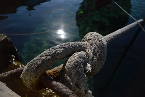 Knot, Greece, Boat, Mooring, Chalki