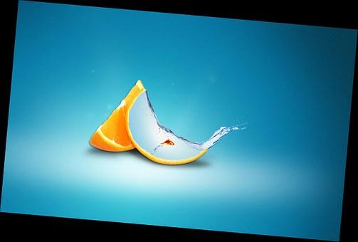 Orange, Fish, Orange Life, Photoshop, Trial, Nikon
