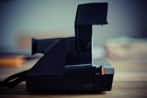 Polaroid, Camera, Right Away, Image, Photography