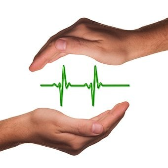 Hands, Protect, Health, Pulse, Frequency, Heartbeat