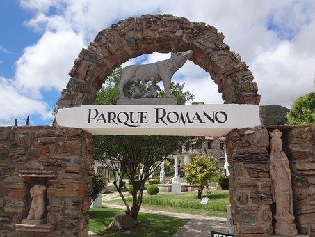 Park, Romulus And Remus, Animal
