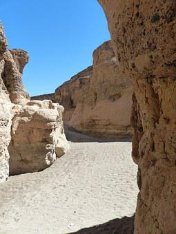 Sesriem, Sedimentary Rocks, Gorge, Rock