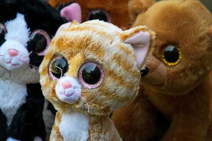 Glubschis, Stuffed Animal, Soft Toy, Cat, Teddy Bear