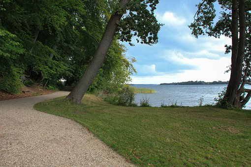 Lake, Schweriner See, Landscape, Nature, Water, Trail