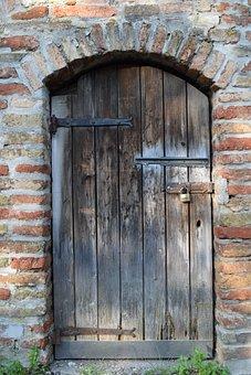 Door, Wooden Door, Wood, Input, Old, House Entrance