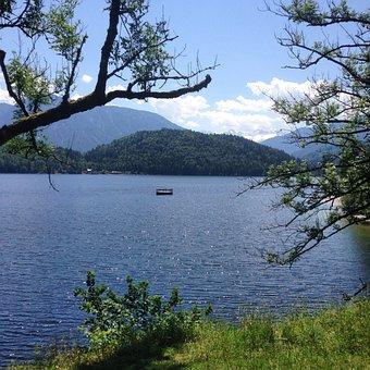 Austria, Altaussee, Lake, Salzkammergut, Landscape