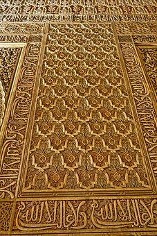 Pattern, Decoration, Spanish, Arabesque