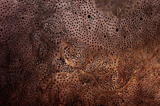 Arabic, Arabesque, Metal, Texture