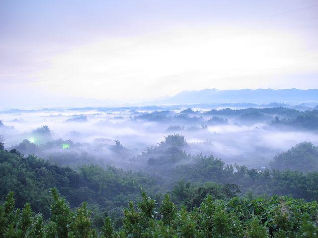 B Liu, Sunrise, Landscape